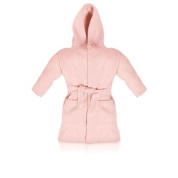 Blank Baby Bath/Dressing Gown in Pink