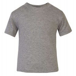 Baby and Toddler Blank T-Shirt in Grey Marl