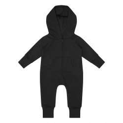 Baby/Toddler Fleece Onesie in Black
