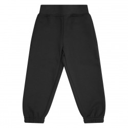 Kids's Fleece Joggers in Black