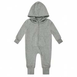 Baby/Toddler Fleece Onesie in Grey Marl