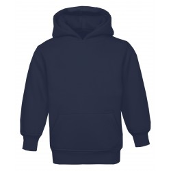 Kid's Pull On Hoodie in Navy