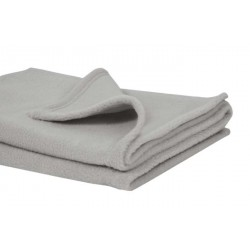 Soft Fleece Baby Blankets/Wraps/Shawls in Light Grey