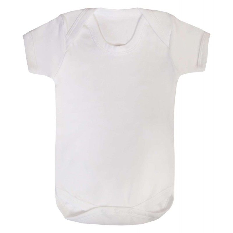 6fb99826472 Baby Blanks Bodysuits in White by Kids Wholesale Clothing