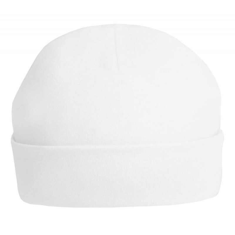 Baby Blanks Baby Hats in White by Kids Wholesale Clothing d4061ba0992