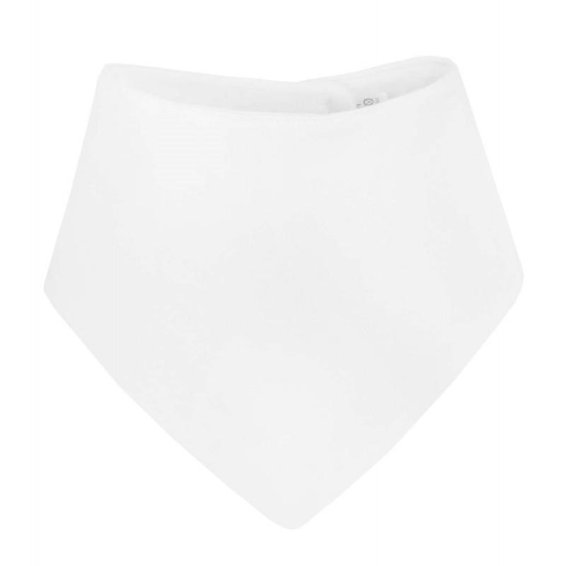 Blank Baby Bandana Bib In White By Kids Wholesale Clothing