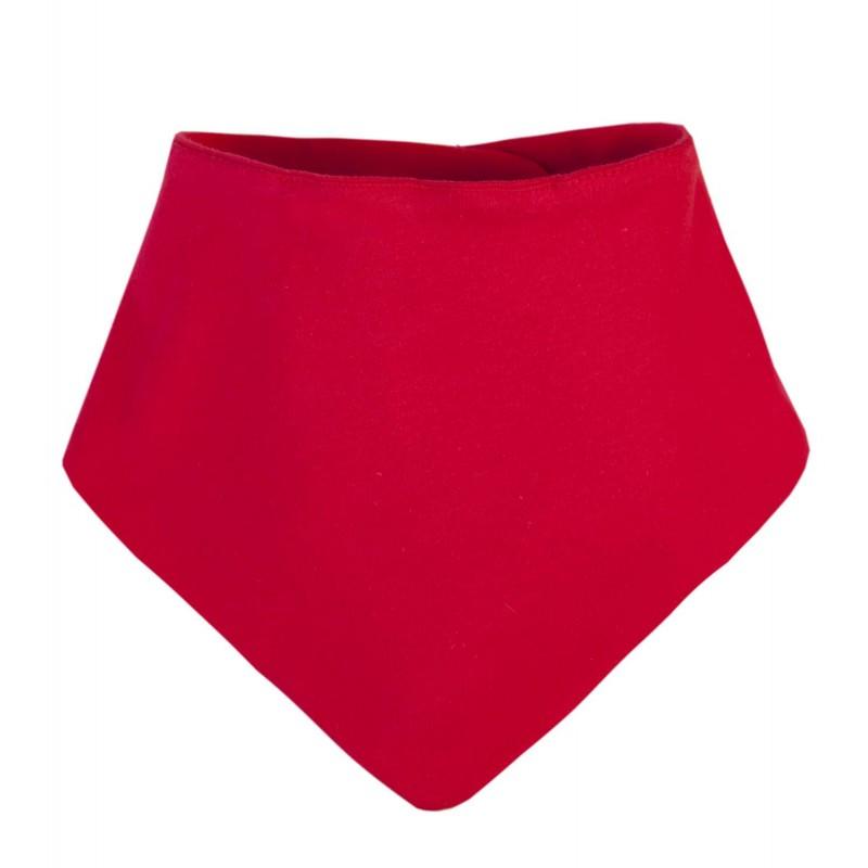 Blank Baby Bandana Bib In Red By Kids Wholesale Clothing