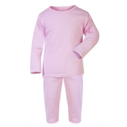 Pink Baby Long Sleeve Pyjama Set