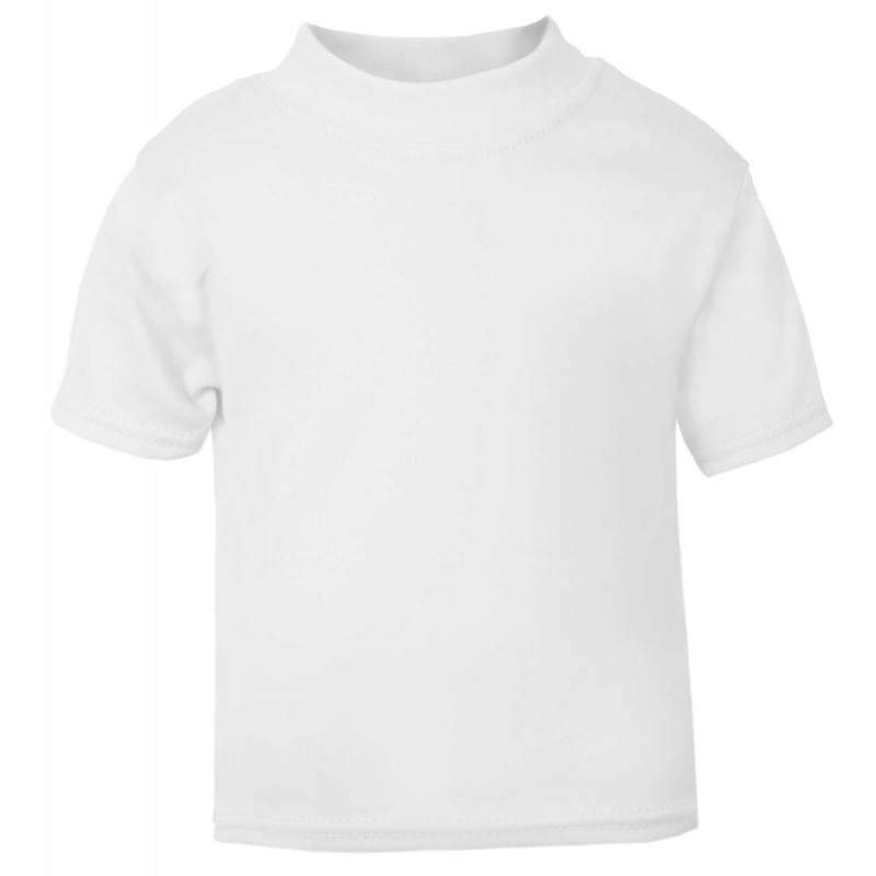 professional best place for enjoy bottom price Baby and Toddler Blank T-Shirt in White