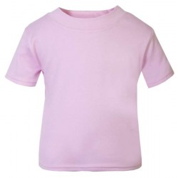 Baby and Toddler Blank T-Shirt in Pink