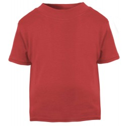Baby and Toddler Blank T-Shirt in Red