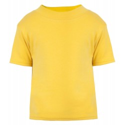 Baby and Toddler Blank T-Shirt in Sunflower Yellow