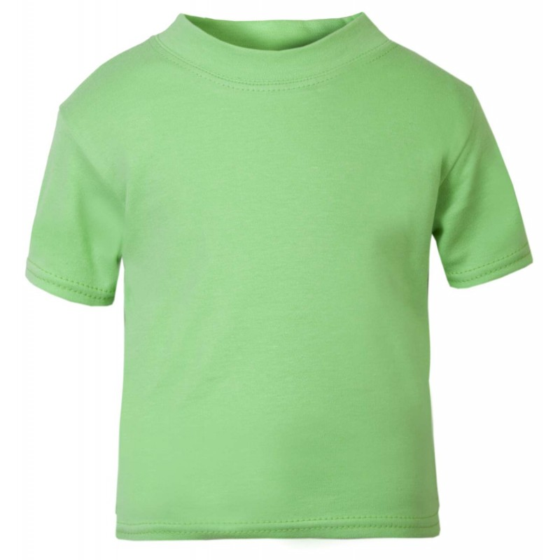 los angeles special discount top-rated real Baby and Toddler Blank T-Shirt in Green