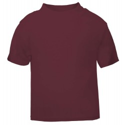 Baby and Toddler Blank T-Shirt in Maroon