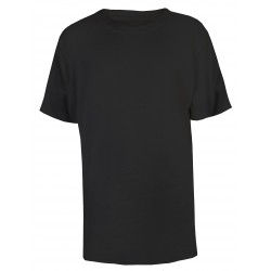 Boy's Crew Neck T-Shirt in Black