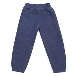 Kids Fleece Joggers in Navy