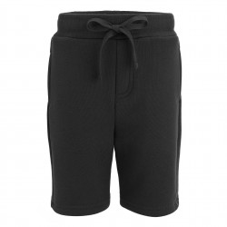 Fleece Shorts in Black