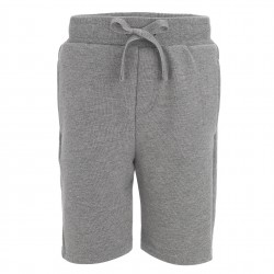 Fleece Shorts in  Grey Marl