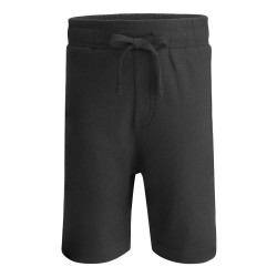 Cotton Shorts in Black