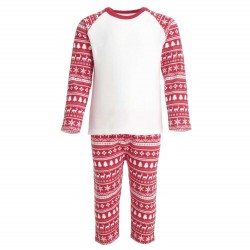 Red Christmas Inspired Design Pyjama Set