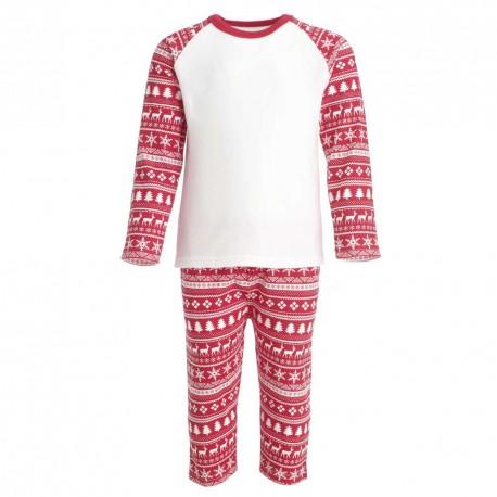 Red Christmas Inspired Design Pyjama Set