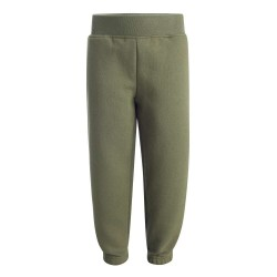 Kids Fleece Joggers in Khakhi