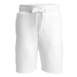 Fleece Shorts in White