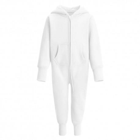 Baby/Toddler Fleece Onesie in White