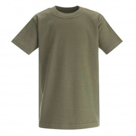 Baby and Toddler Blank T-Shirt in Khaki