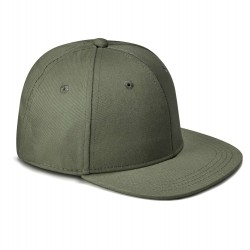 Kid's Snapback Cap in Khaki