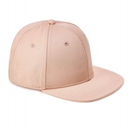 Kid's Snapback Cap in Dusty Pink