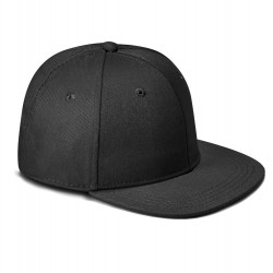Kid's Snapback Cap in Black