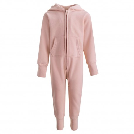 Baby/Toddler Fleece Onesie in Dusty Pink