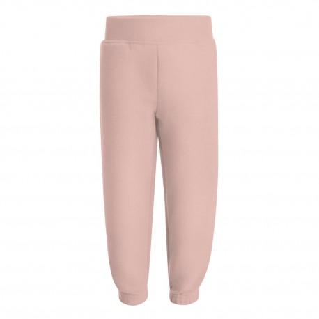 Kids Fleece Joggers in Dusty Pink