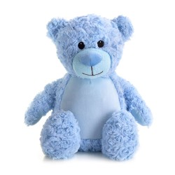 Soft Toys for Personalisation - Teddy Bear Blue