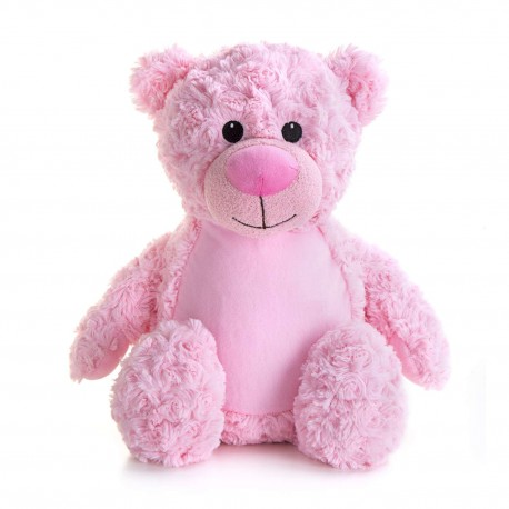 Soft Toys for Personalisation - Teddy Bear Pink