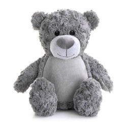 Soft Toys for Personalisation - Teddy Bear Grey