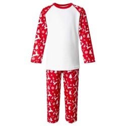 Red Reindeer Pyjama Set