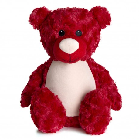 Soft Toys for Personalisation - Teddy Bear In Red