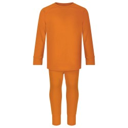 Loungewear Set in Burnt Orange