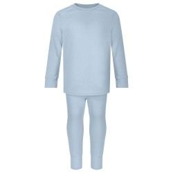 Loungewear Set in Dusty Blue