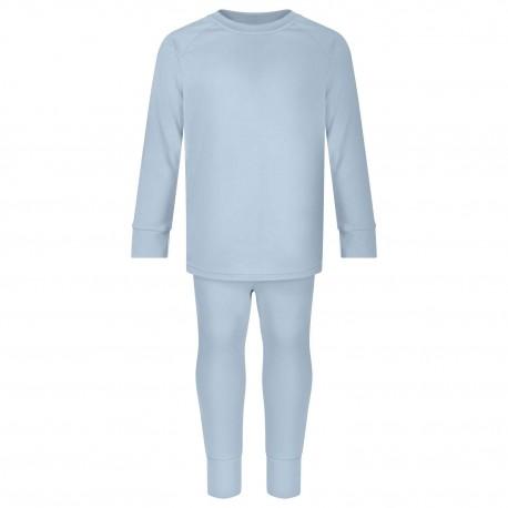Loungewear Set in Dusty Blue