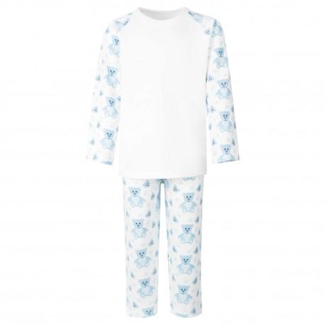 Tummi Bears® Light Blue Teddy Bear Pyjama Set
