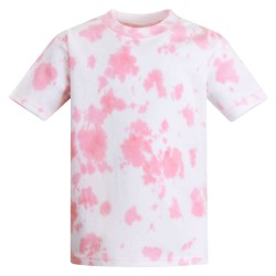 Baby and Toddler Blank T-Shirt in Tie Dye Pink