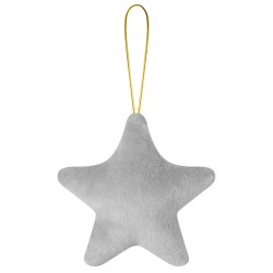 Star Shape Christmas Decoration in Grey